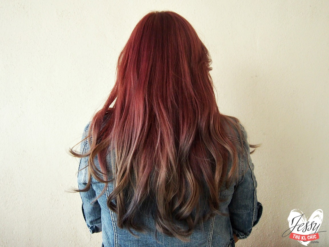 Hair: Pink Grey Ombre Hair With Number76 - Jessy The KL Chic ...