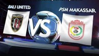 Bali United Pusam vs PSM Makassar 4-1