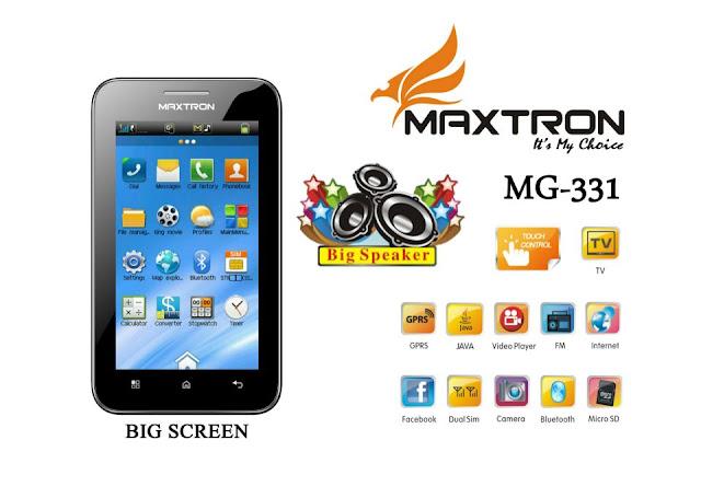 Spesifikasi Harga Maxtron MG-331