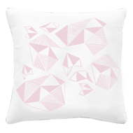 Pattern Play Cushion in Pink