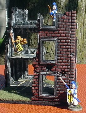 A little 15mm Mordheim WIP Corner+ruin+4