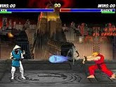 Jogo Mortal kombat vs Street fighter