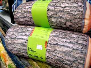Shoppers in New York will sleep like a log on this log pilloiw found at Delphinium