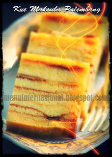 Cara Membuat Kue Maksuba Khas Palembang