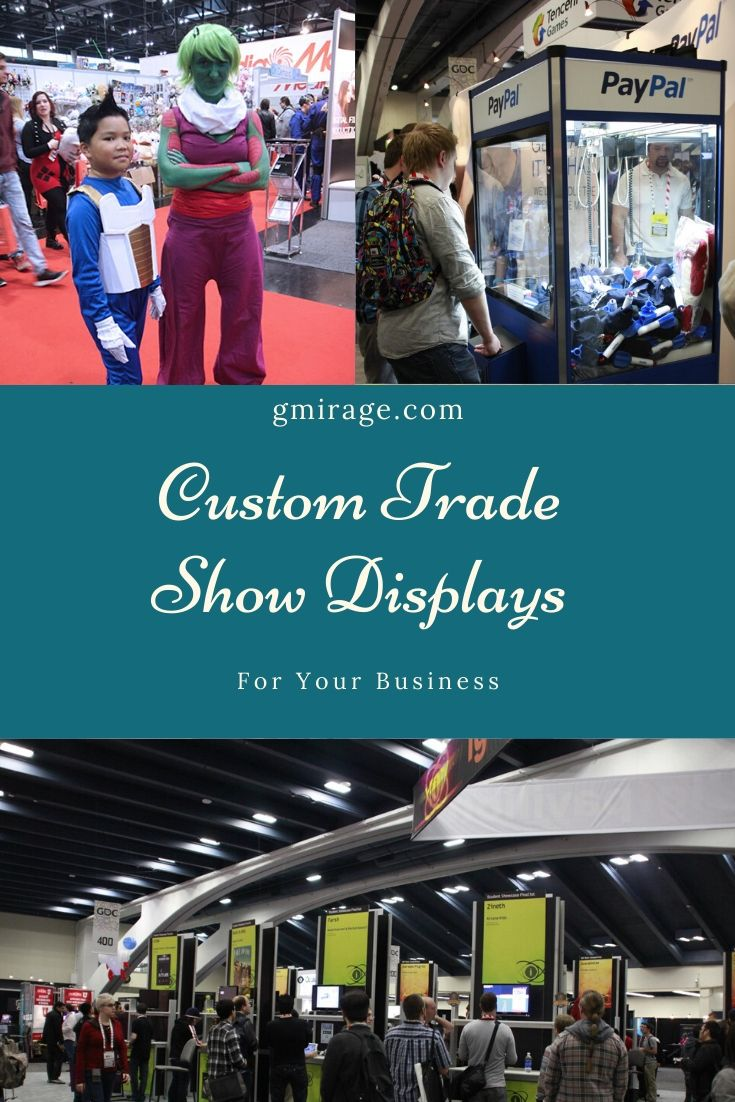 Custom Trade Show Displays For Your Business
