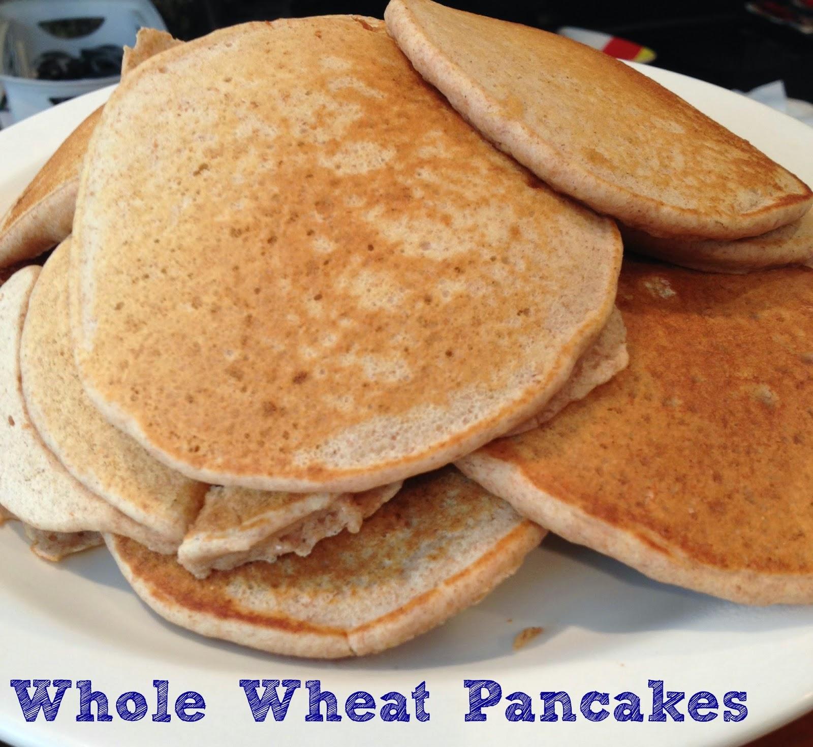 EatYourHeartOut: Whole Wheat Pancakes