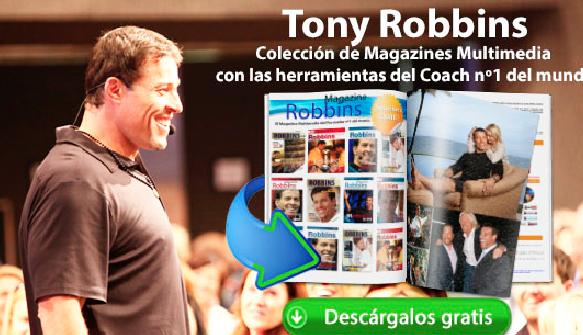 Colección Magazines con las herramientas de Tony Robbins
