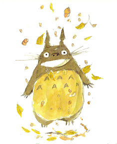 concept art My Neighbor Totoro Ghibli