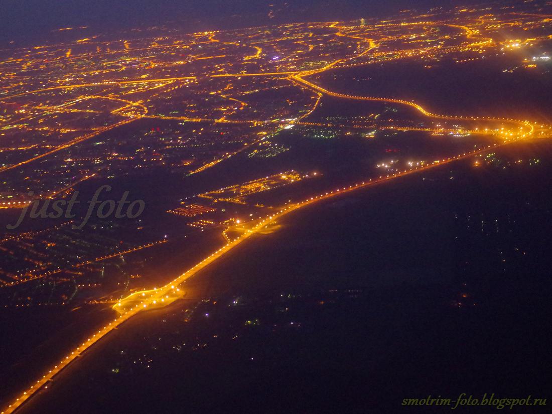 Ночное небо Петербурга