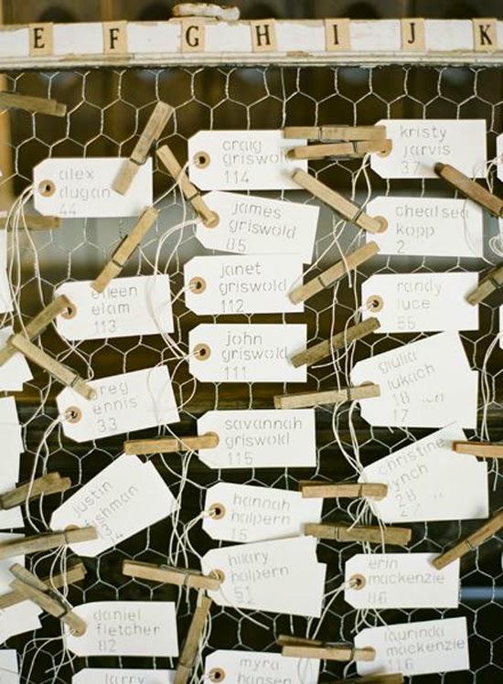 Oh!mywedding: decoración con malla de gallinero