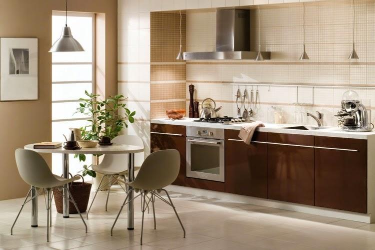Cocinas con comedores de diario colores en casa for Colores para cocina comedor