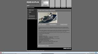 Captura de pantalla de www.pradavp.com