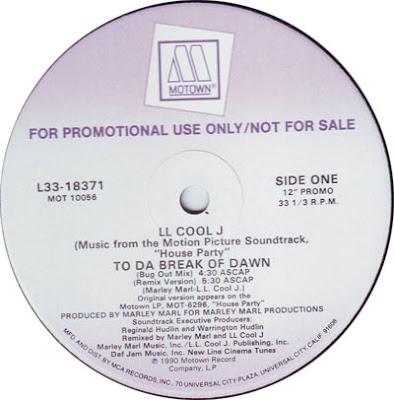 LL Cool J – To Da Break Of Dawn (Promo VLS) (1990) (320 kbps)