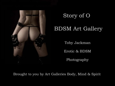 ... presenting Toby Jackman Erotic & BDSM Art Collections.