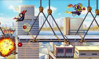 Screenshots of the Spiderman: Ultimate power for Android tablet, phone.