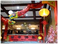 CNY 2012 deco at Quality Hotel KL