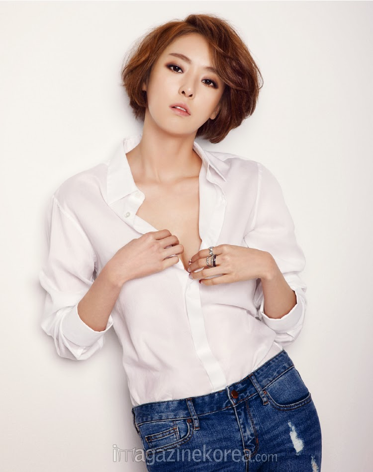 Lee Da Hee - Esquire January 2014