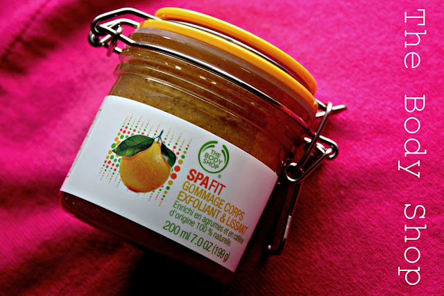 The Body Shop Spafit Smoothing & Refining Body Scrub
