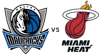 Logos de equipos Dallas vs Miami
