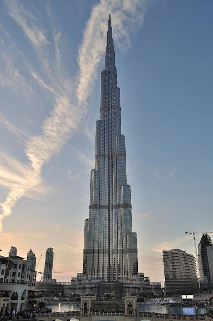 puestas de sol desde el edificio mas alto del mundo