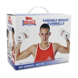 Lonsdale Variable Weight Dumbbells