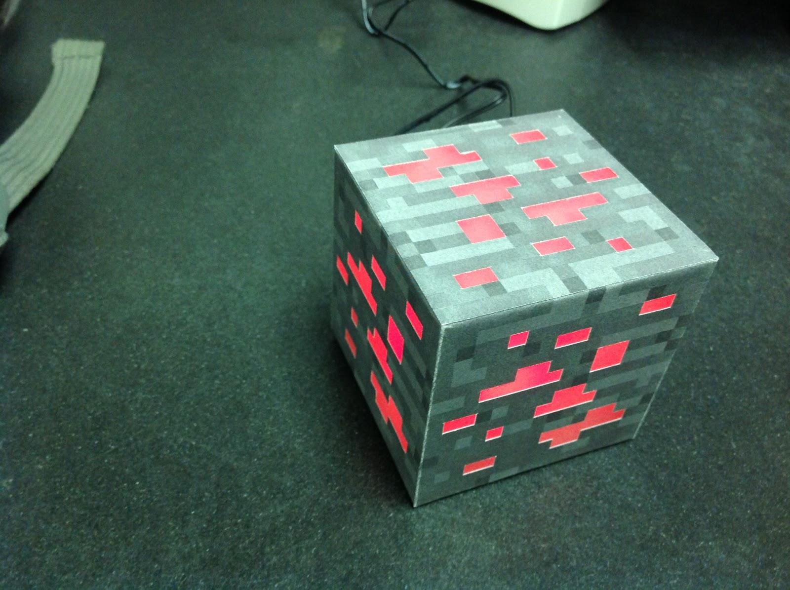 Night light using arduino - Minecraft Ore Block Night Light