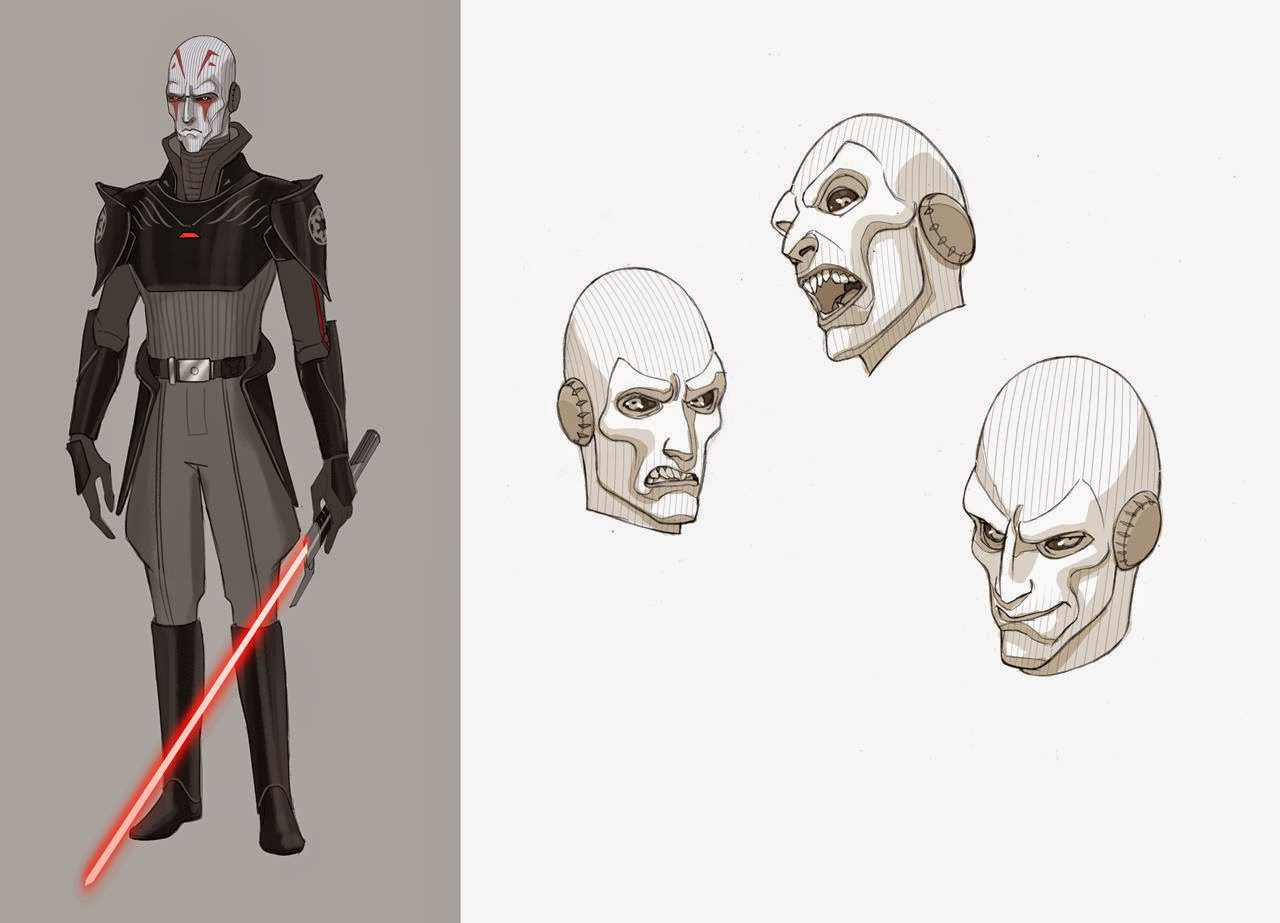 Fashion and Action: Star Wars Rebels Premieres Tonight ...