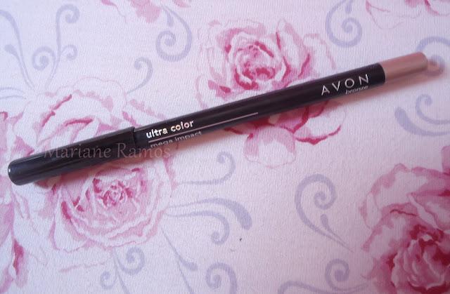 lápis mega impact avon cor bronze