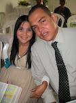 Fundadores do Blog da Família Unidos em Cristo: Júnior Soares e Vânia Soares(Psicopedagoga)