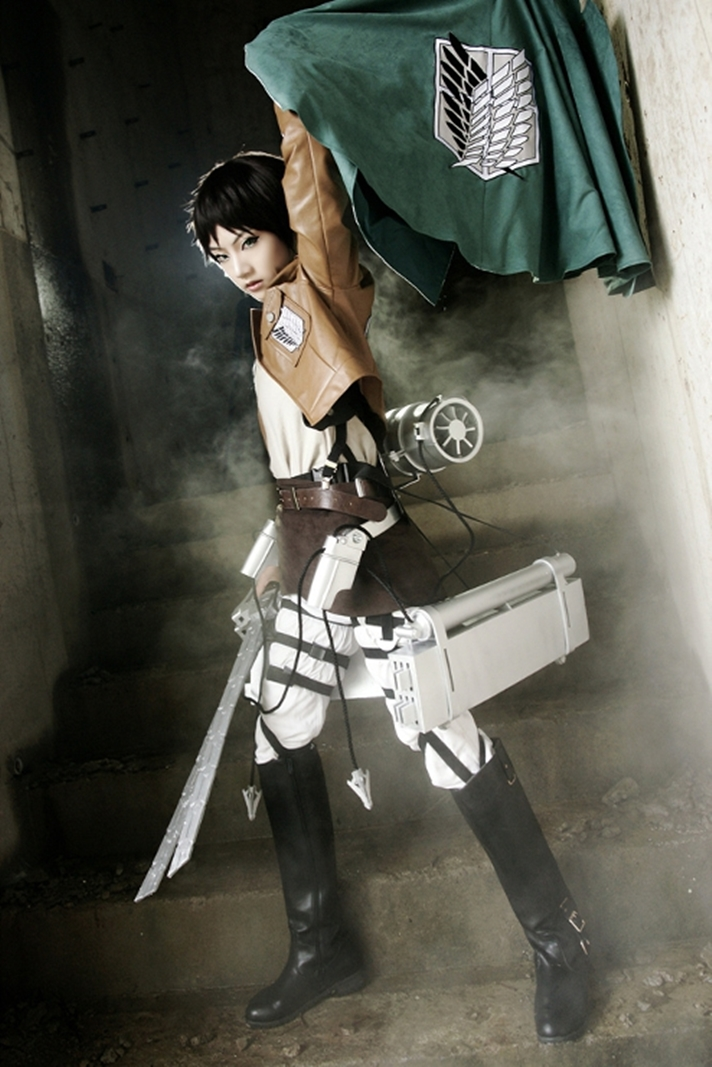 animation new: Eren Jaeger Cosplay by AZA