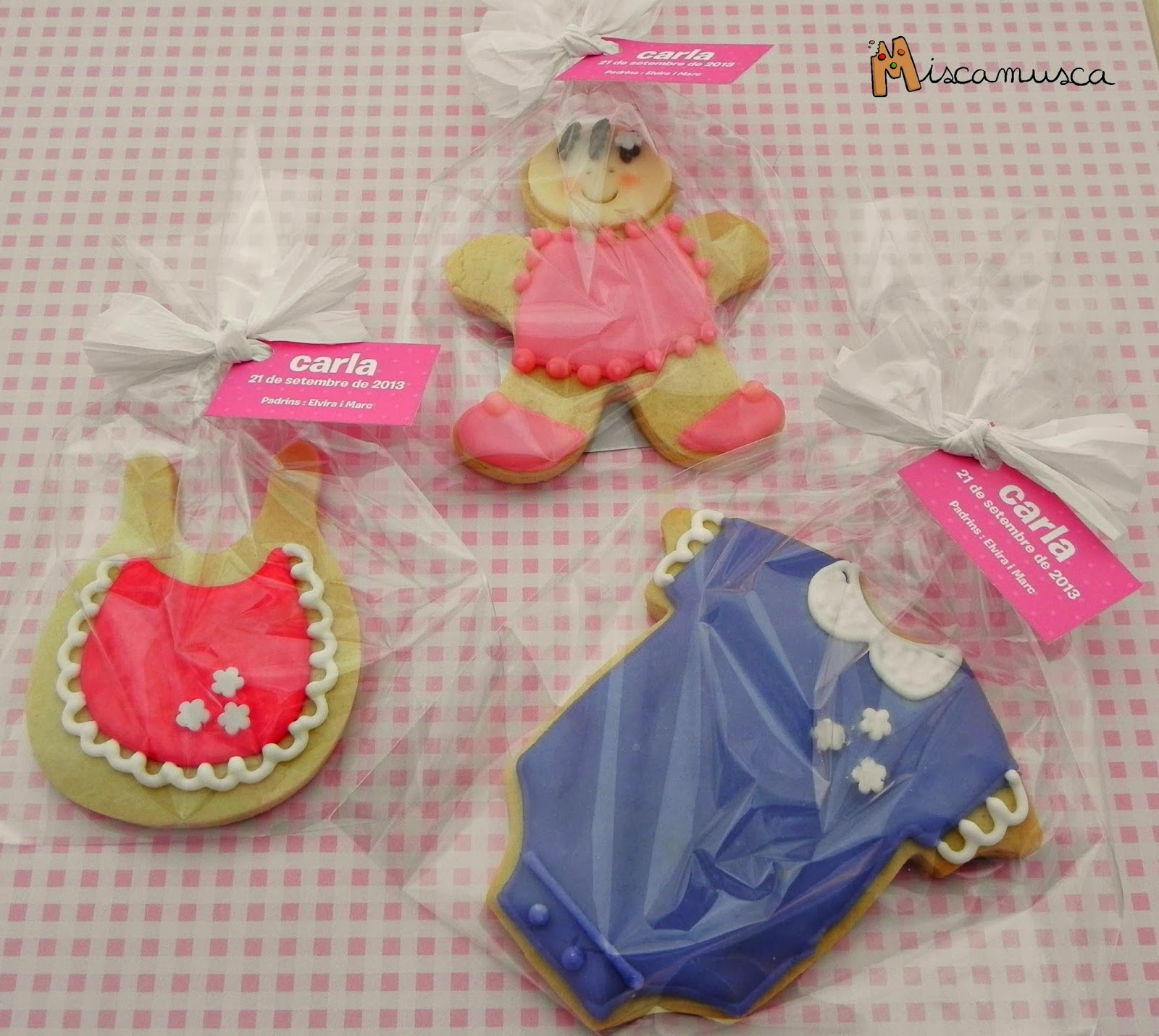 Galletas decoradas bautizo