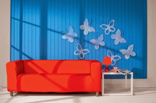 Make a Beautiful Butterflies for Decorating the Home Walls