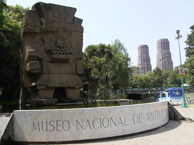 Museo Nacional Antropología, Chapultepec