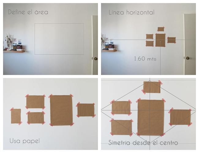 Comparte tus trucos 10 tips para colgar cuadros - Sistemas para colgar cuadros ...