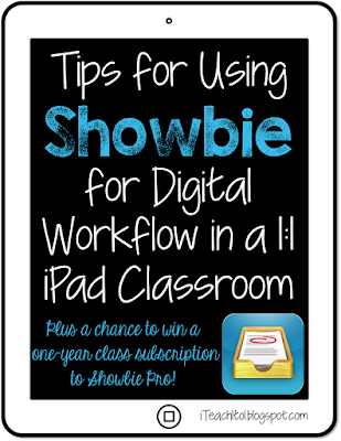 Tips for using Showbie: a digital workflow app