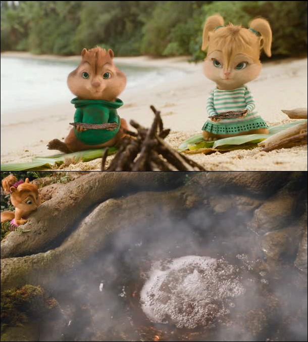 Imagen 1 Alvin y las Ardillas 3 película dvdrip latino