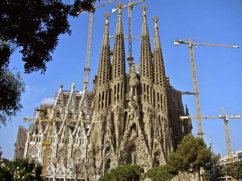 Templo Sagrada Familia Barcelona