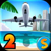 download city island airport 2 mod apk