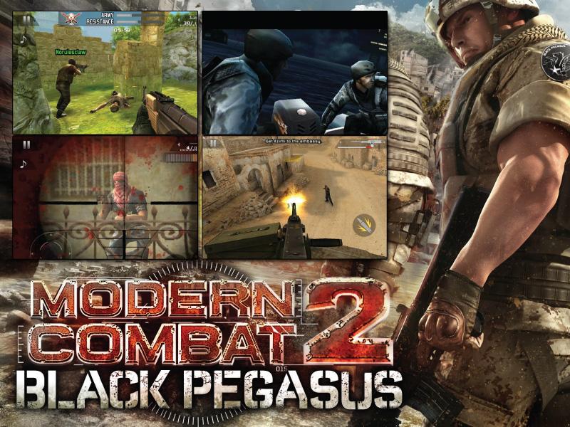 Modern Combat 2 Black Pegasus v1.0.2 For S60v3