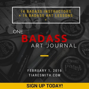 One Badass Art Journal Workshop
