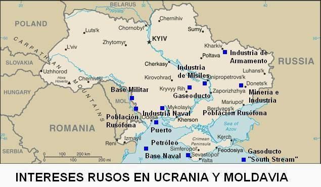 Ucrania Intereses Rusos - Blog Geografía Política