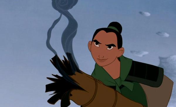 Mulan (Ming-Na Wen) in Disney's Mulan