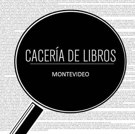 Sumate a la Cacería de libros de Montevideo.