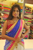 Mounika Reddy Glam pics in Half saree-thumbnail-12
