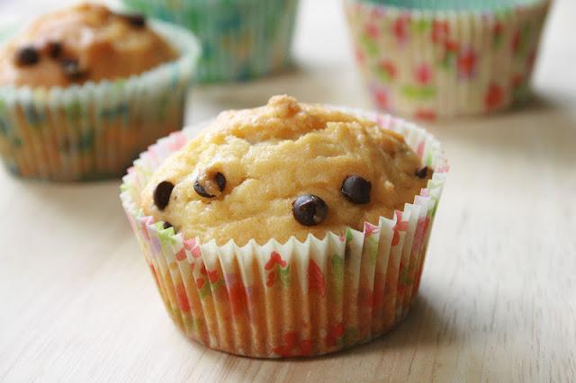 muffins yogurt&cioccolato al profumo di vaniglia