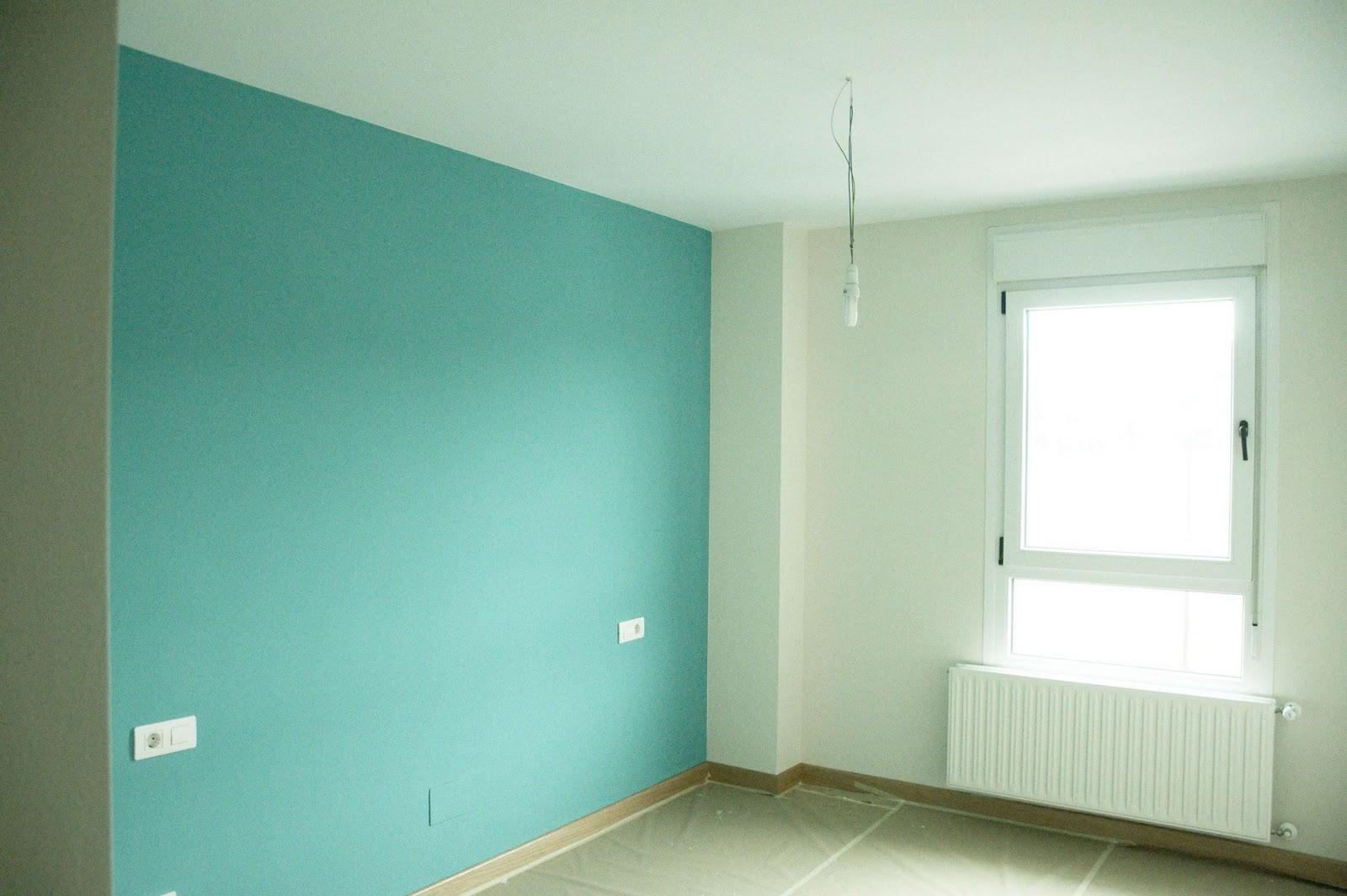 Isaac pintura febrero 2012 - Color turquesa en paredes ...