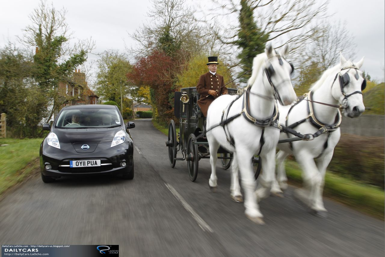 Daily cars electric car versus horse and carriage for Car carriage