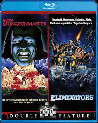 The Dungeonmaster and Eliminators Blu-ray