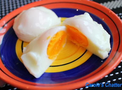 Poached Eggs: Carole's Chatter