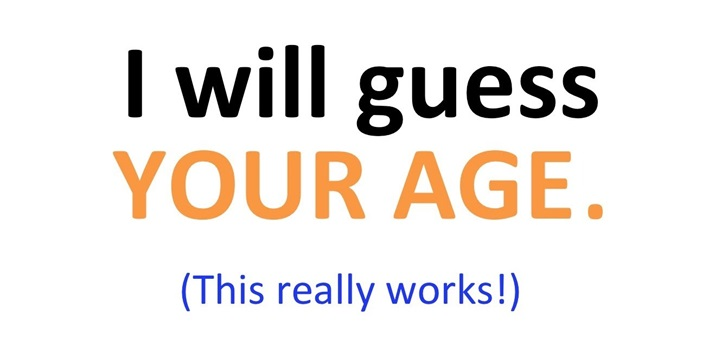 Your life let your life control your age in this quick assessment we
